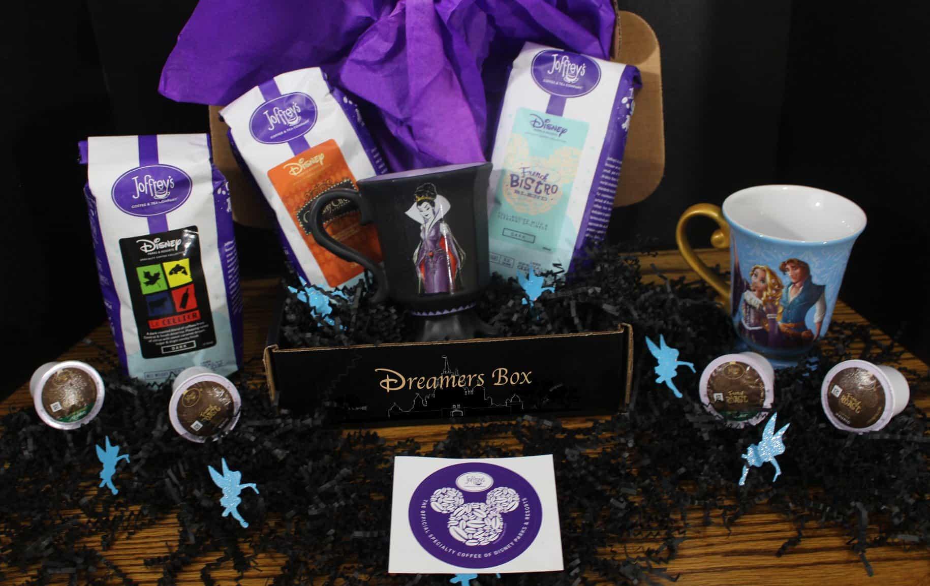 Dreamers Disney Coffee Box Hello Subscription