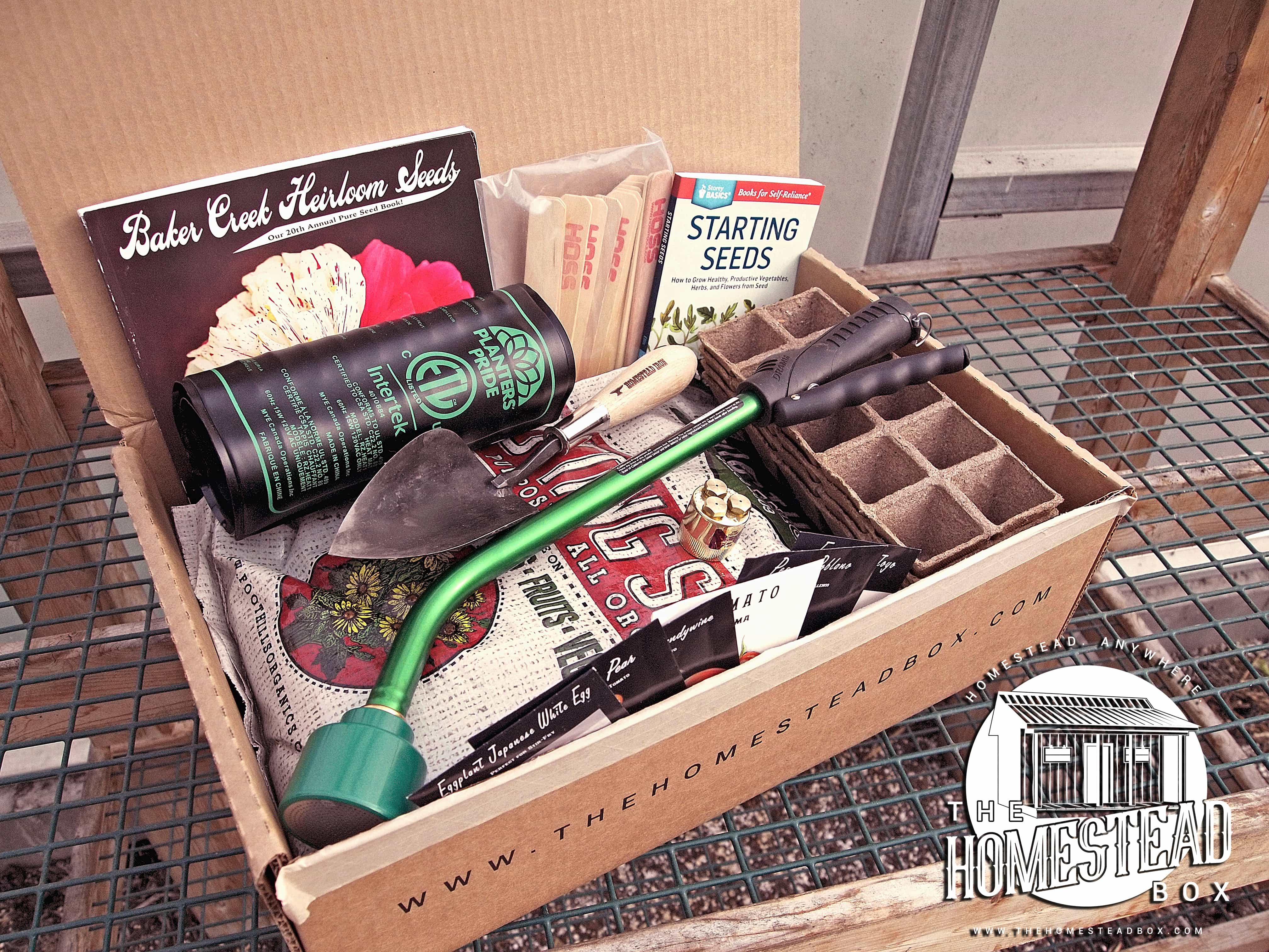 The Homestead Box Hello Subscription